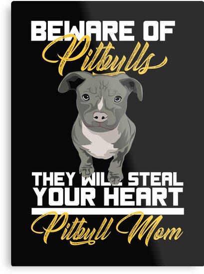 Pit Bull Mom Dog Mum Owner Gift