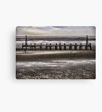 St Annes Pier Head Canvas Print