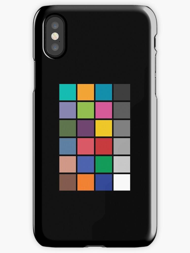 Colour chart by Oleksii Rybakov