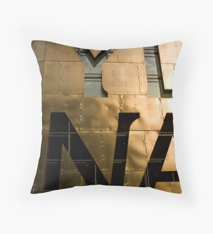 A Hint of a Word Throw Pillow