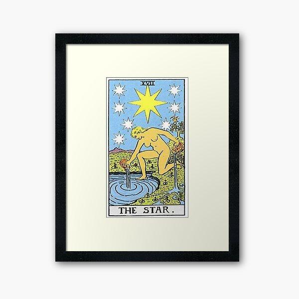 The Star Tarot Framed Art Print