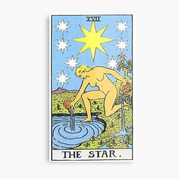 The Star Tarot Metal Print