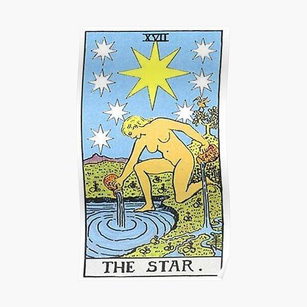 The Star Tarot Poster