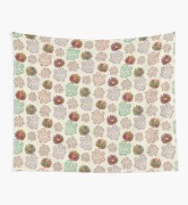 Autumn Orchard Folk Flowers Wall Tapestry