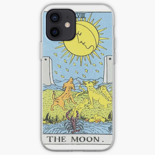 The Moon Tarot iPhone Soft Case