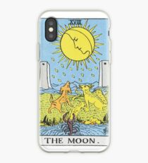 The Moon Tarot iPhone Case