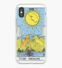 Vinilo o funda para iPhone El tarot de la luna