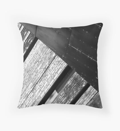 The Many Shades Throw Pillow