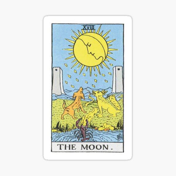 The Moon Tarot Sticker