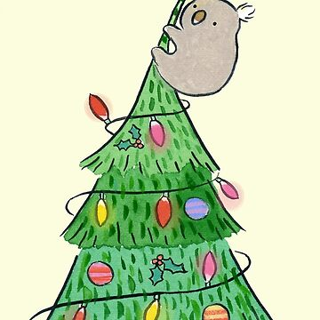 Christmas Tree Koala by zoel