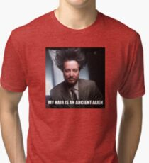 TSOUKALOS Tri-blend T-Shirt