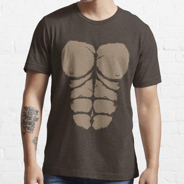 Funny Gorilla Chest Halloween Costume Gift T-shirt Essential T-Shirt