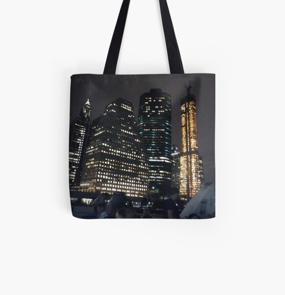 #Port, #crane, #ship, #industry, #sea, #cargo, #harbor, #dock, #shipping, #industrial, #night, #container, #water, #transportation, #transport, #cranes, #boat, #sky, #harbour, #nightlight, #reflection All Over Print Tote Bag