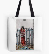 Eight of Swords Tarot Tote Bag