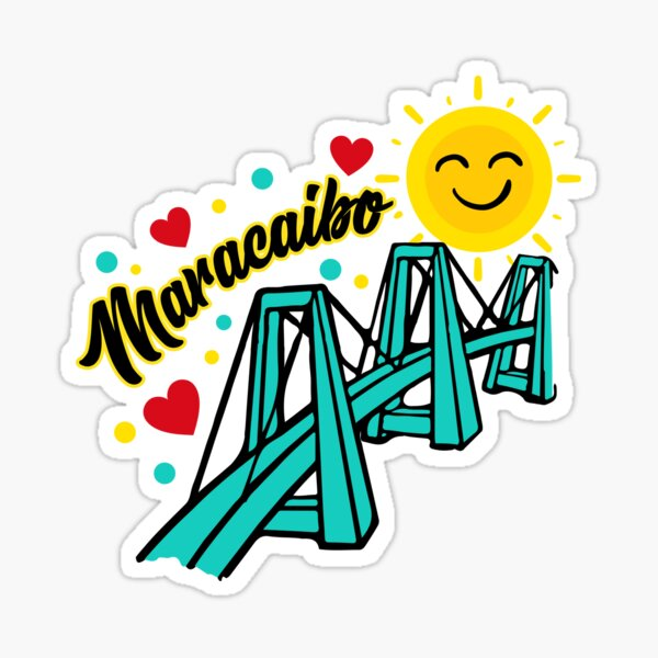 Maracaibo Bridge Lake Sticker