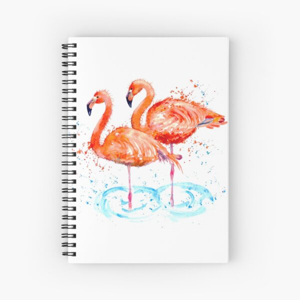 @ Flamingos Spiral Notebook