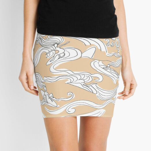Ladies surfer Mini Skirt