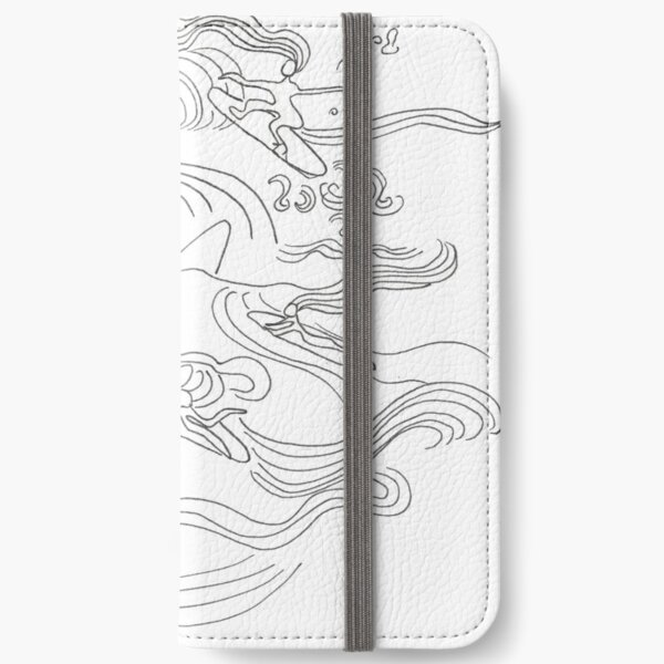 Ladies surfer iPhone Wallet