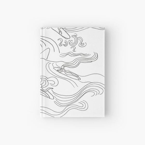 Ladies surfer Hardcover Journal