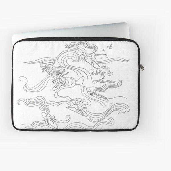 Ladies surfer Laptop Sleeve