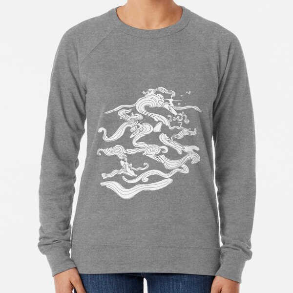 Ladies surfer Lightweight Sweatshirt