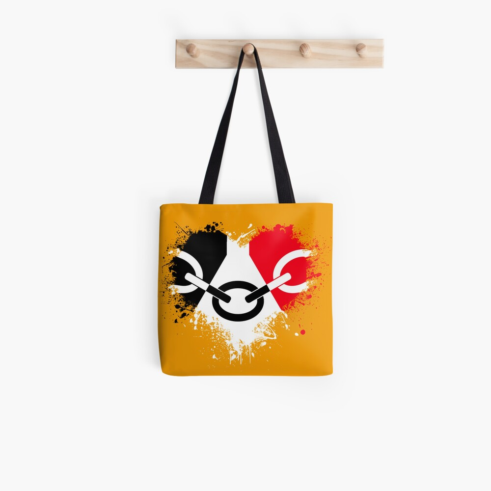 Black Country Heart Tote Bag