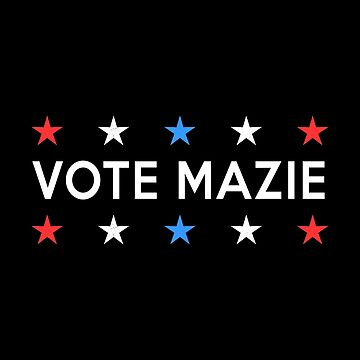 Vote Mazie Hawaii Midterm Election Patriotic Stars by ericthemagenta