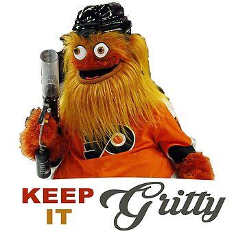 Keep It Gritty Philadelphia Hockey Mascot Shirt by tessBuzz