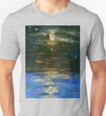 Night Sky at Sea Unisex T-Shirt