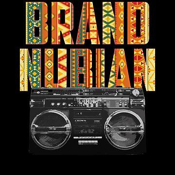 Brand Nubian Hip Hop African Print by BonafideIcon