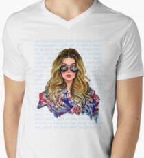 Alexis ew David T-Shirt mit V-Ausschnitt für Männer