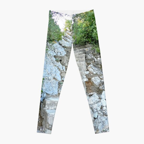 Up the Downed Staircase Leggings
