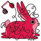 Frustrated Bun - Mood Bunnies by baretreemedia