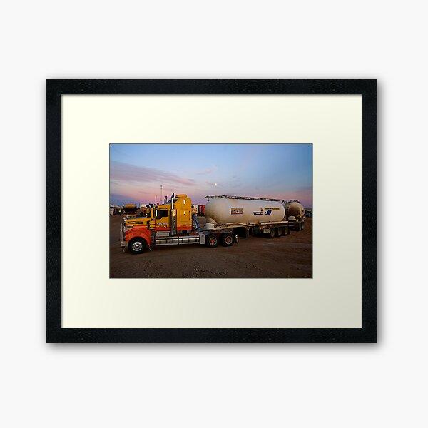 Big Rig at Lyndhurst Framed Art Print