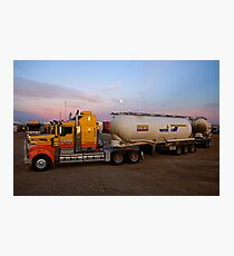 Big Rig at Lyndhurst Photographic Print