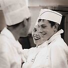 cooks....having a laugh..!! by Dave Hiskey