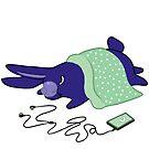 Sleepy Bun - Mood Bunnies by baretreemedia