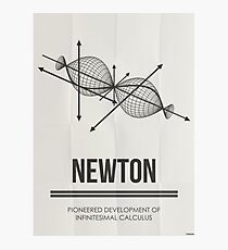 NEWTON - Mathematicians Collection Photographic Print
