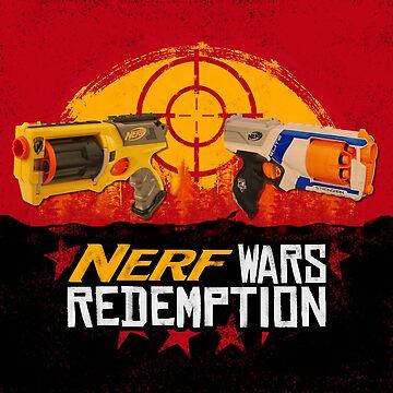 Nerf Wars Redemption by GoMerchBubble