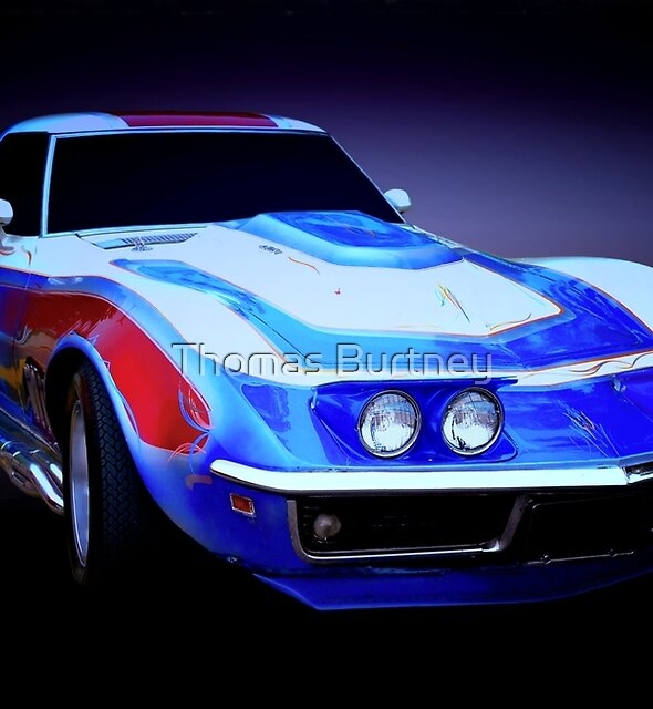 1968 Corvette Sport Coupe by Thomas Burtney