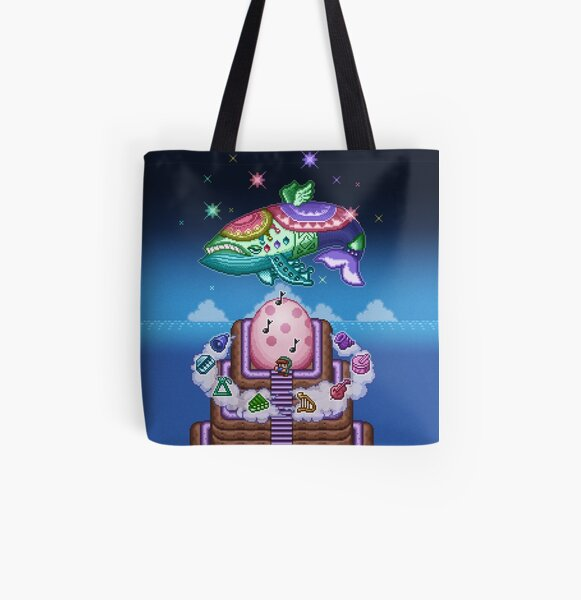 Wind Fish All Over Print Tote Bag