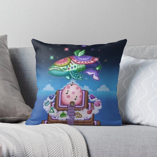 Wind Fish Throw Pillow