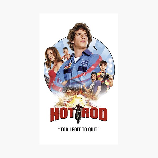 Hot Rod Movie Andy Samberg  Photographic Print