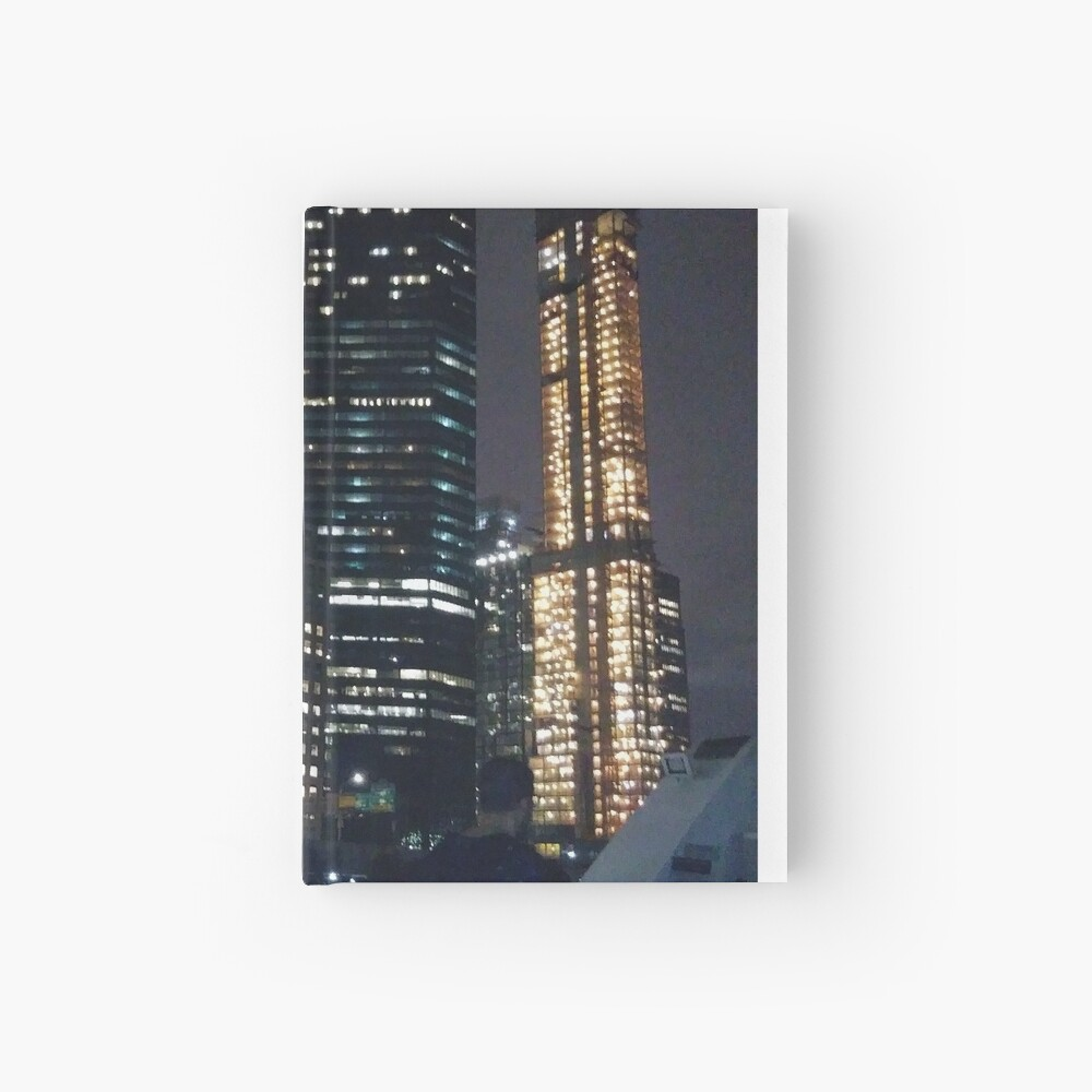 #skyscraper #city #architecture #business #cityscape #tallest #office #finance #dusk #tower #modern #sky #outdoors #horizontal # #colorimage #copyspace #builtstructure #downtowndistrict #urbanskyline  Hardcover Journal