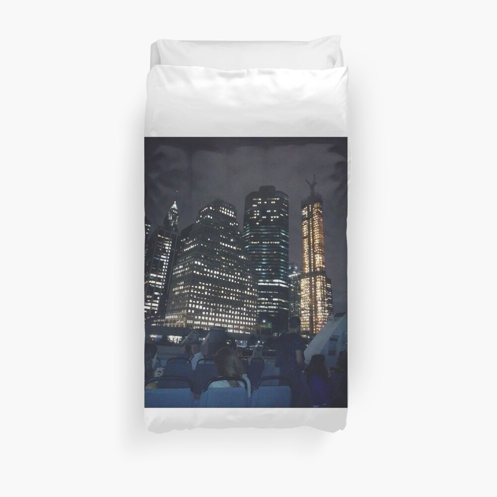 #skyscraper #city #architecture #business #cityscape #tallest #office #finance #dusk #tower #modern #sky #outdoors #horizontal # #colorimage #copyspace #builtstructure #downtowndistrict #urbanskyline  Duvet Cover