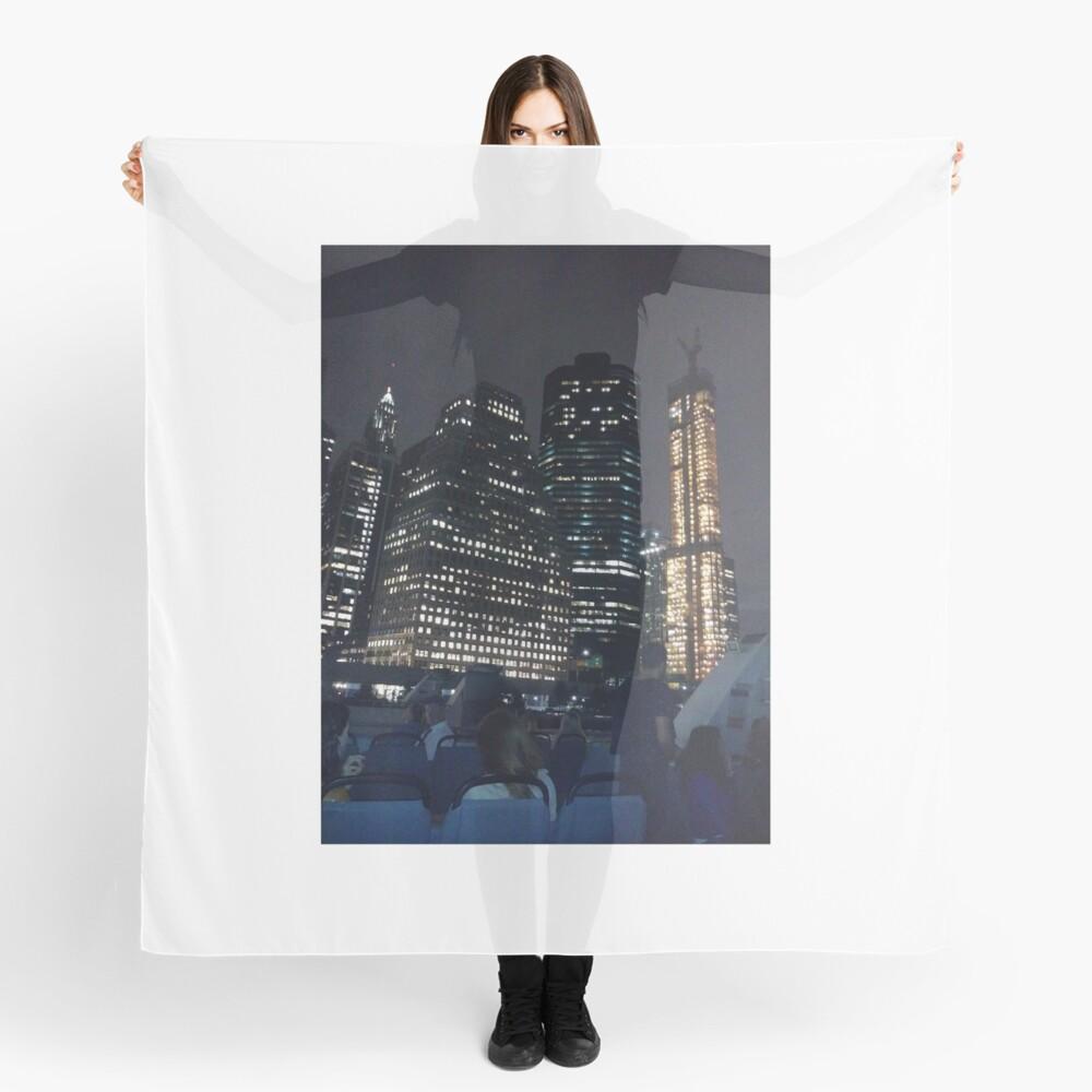#skyscraper #city #architecture #business #cityscape #tallest #office #finance #dusk #tower #modern #sky #outdoors #horizontal # #colorimage #copyspace #builtstructure #downtowndistrict #urbanskyline  Scarf