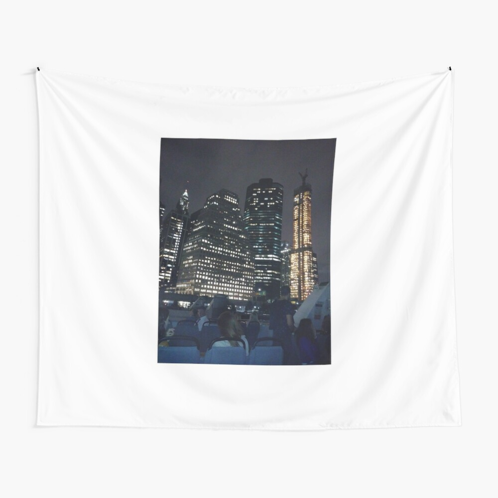 #skyscraper #city #architecture #business #cityscape #tallest #office #finance #dusk #tower #modern #sky #outdoors #horizontal # #colorimage #copyspace #builtstructure #downtowndistrict #urbanskyline  Wall Tapestry
