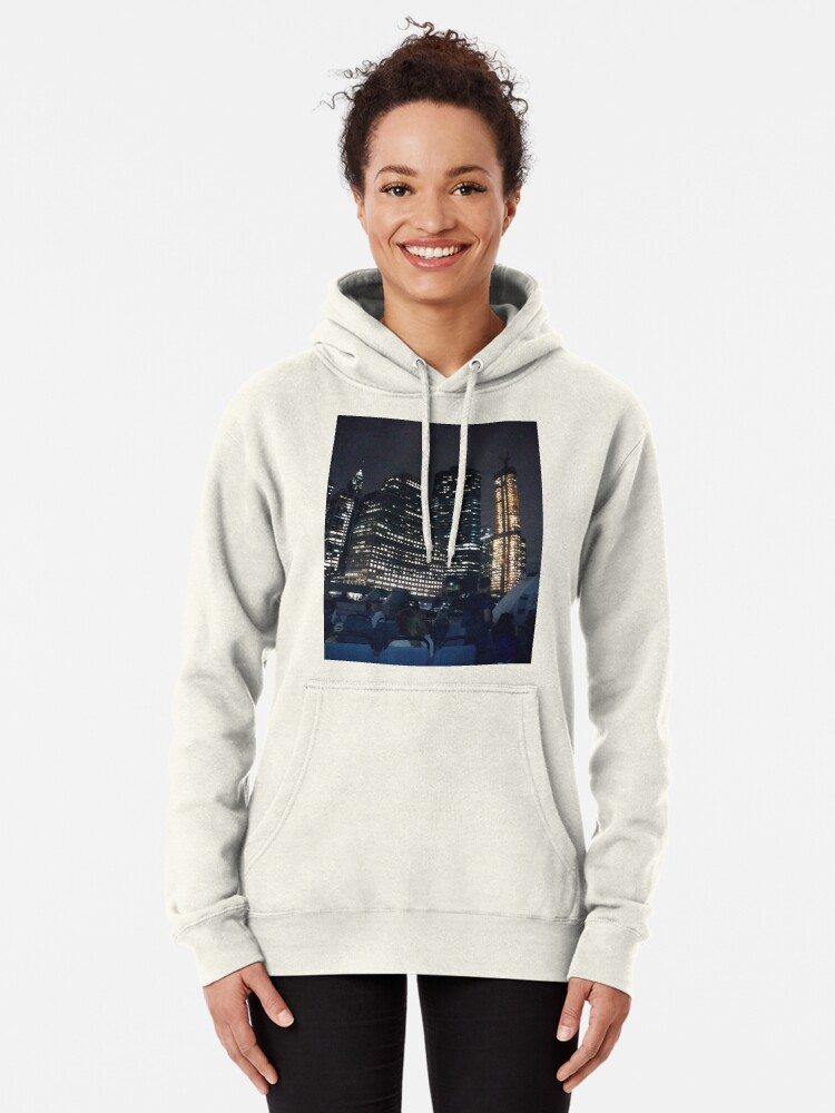 Alternate view of #skyscraper #city #architecture #business #cityscape #tallest #office #finance #dusk #tower #modern #sky #outdoors #horizontal # #colorimage #copyspace #builtstructure #downtowndistrict #urbanskyline  Pullover Hoodie