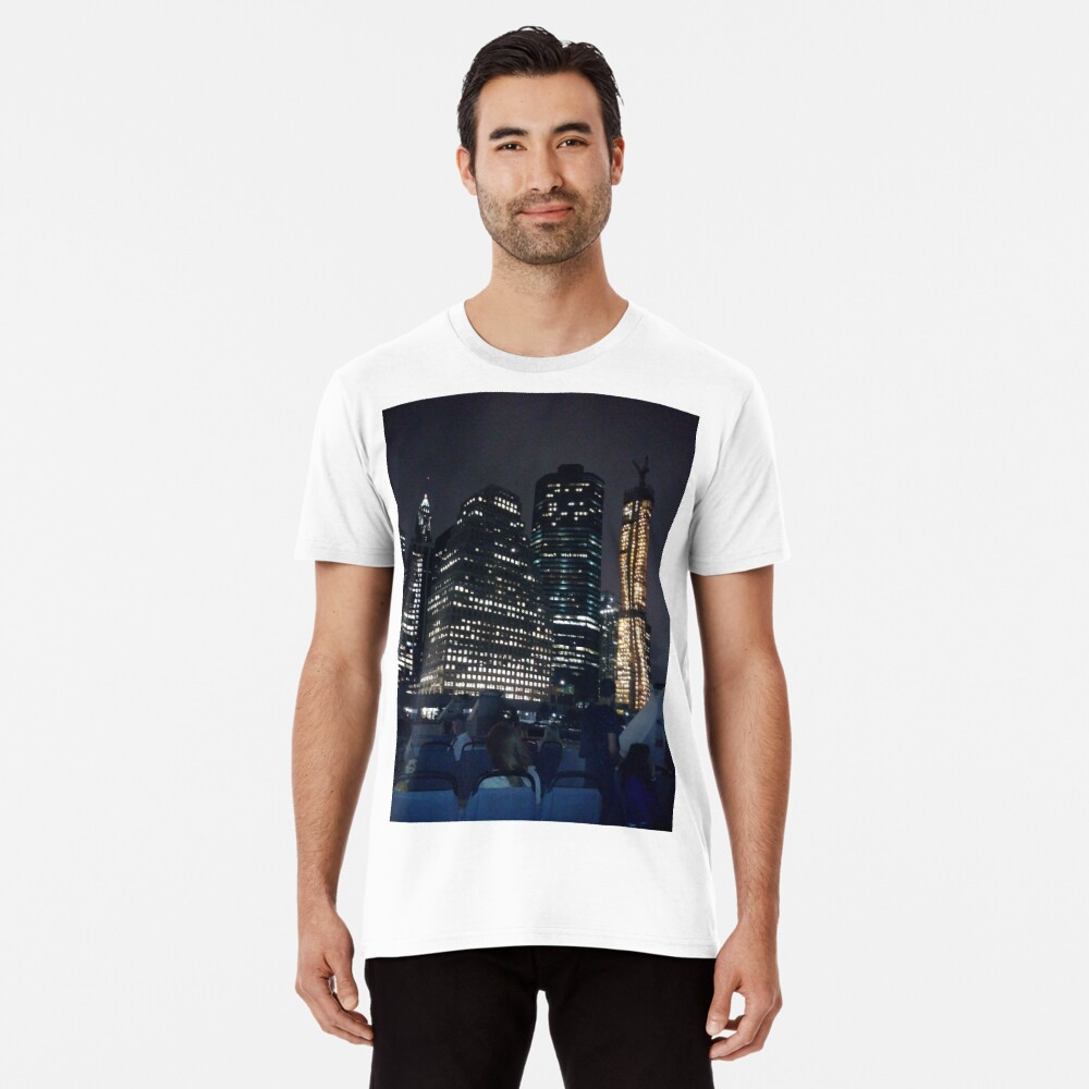 #skyscraper #city #architecture #business #cityscape #tallest #office #finance #dusk #tower #modern #sky #outdoors #horizontal # #colorimage #copyspace #builtstructure #downtowndistrict #urbanskyline  Premium T-Shirt