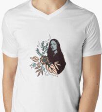 el mal querer Camiseta para hombre de cuello en v